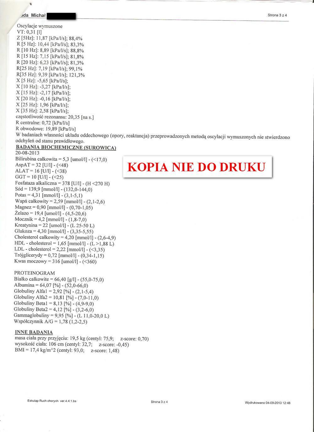 karta informacyjna leczenia szpitalnego IGiCHP 2